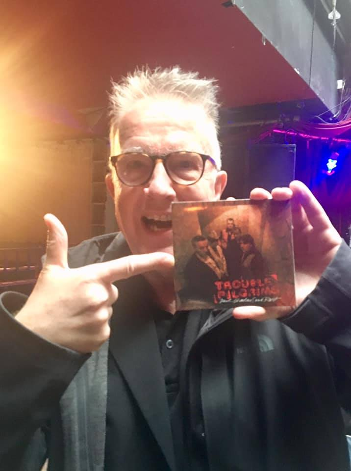 Trouble Pilgrims #pilgrimagetorock Tom Robinson with #darkshadowsandrust